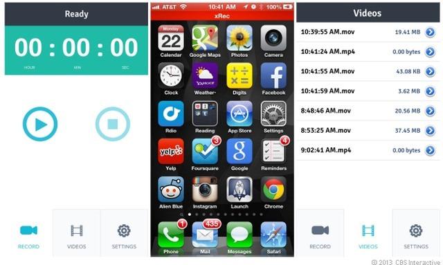 xRec, o aplicatie pentru tutoriale pe iPhone