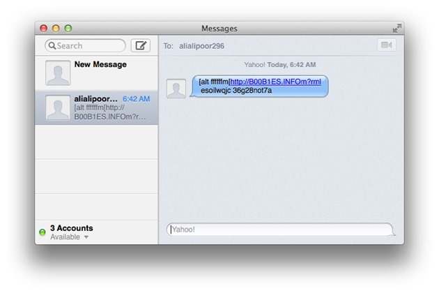 Apple Facetime iMessage Spam