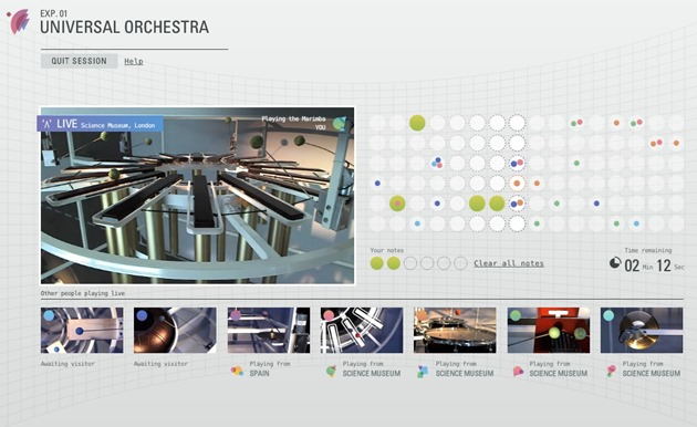 Google Web Project Universal Orchestra