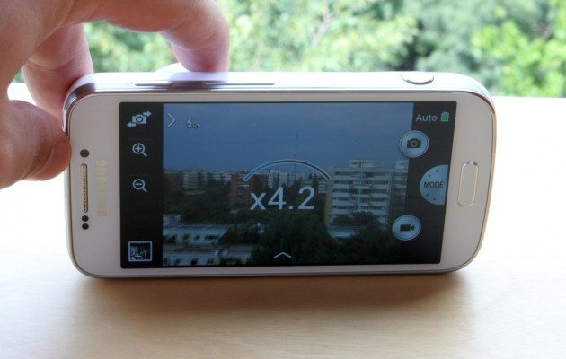 Galaxy S4 Zoom Display