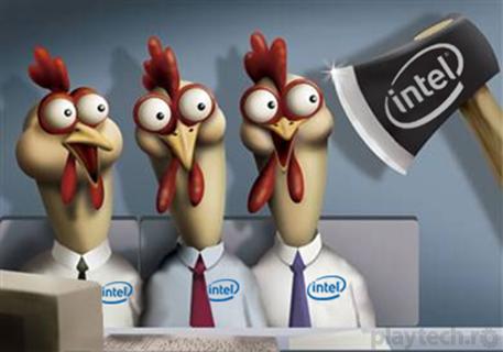 Intreaga echipa de PR Intel concediata