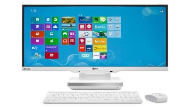 LG AIO PC V960 ultrawide