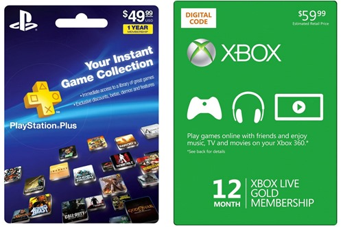 PlayStation-Plus-vs-Xbox-Live ps4 xbox one