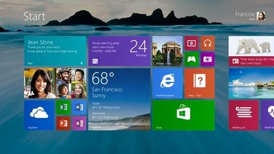 Windows 8.1 are o data de lansare oficiala