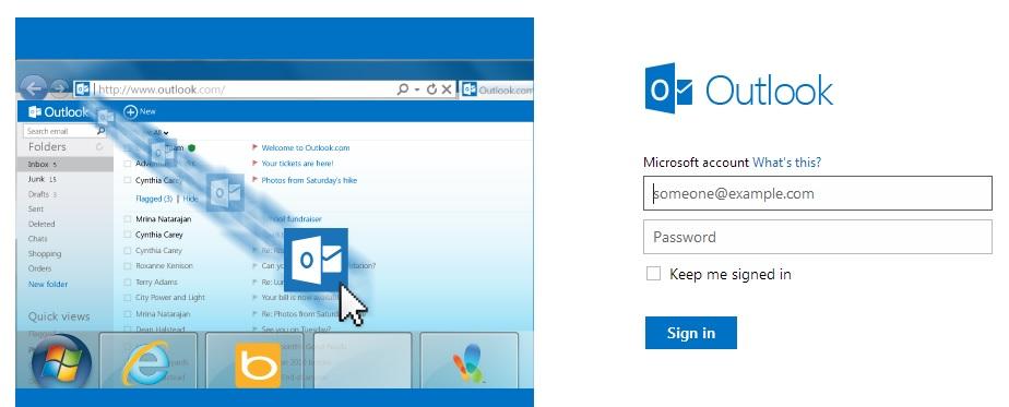 """Microsoft isi cere scuze pentru """"indisponibilitatea"""" lui Outlook.com"""