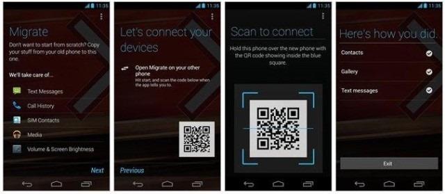 Motorola Migrate – aplicatie pentru transfer de la un Android la altul