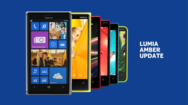 nokia windows phone lumia amber