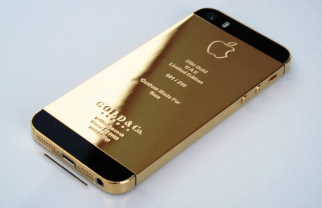 24k gold iphone 5s