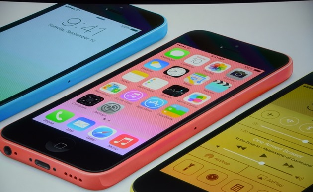 Apple Keynote iPhone 5C iPhone 5S intro