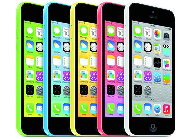 Apple iPhone5c iphone 5 comparatie AllColors