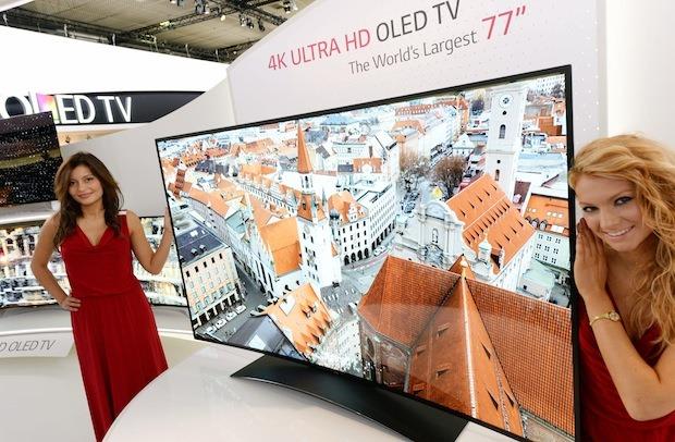 Primul OLED TV Ultra HD mai mare de 55 de inci vine de la LG [+VIDEO]