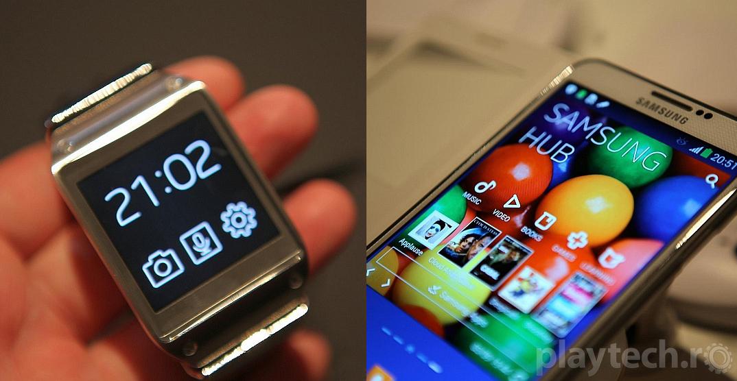 Lansare Samsung Galaxy Gear si Samsung Galaxy Note 3