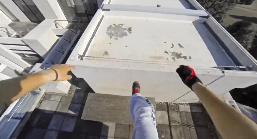Un film spectaculos de tip parkour promoveaza Mirror's Edge [VIDEO]