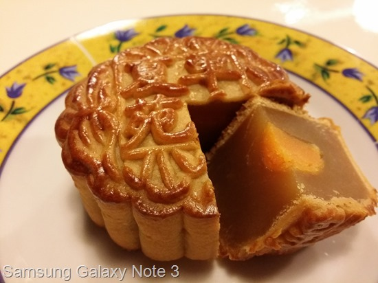 Samsung Galaxy Note 3 mooncake