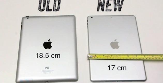 O comparatie intre iPad 4 si nelansatul iPad 5 [VIDEO]