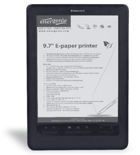 EnerGenie ePP2 eReader, un dispozitiv dintr-o alta clasa de produse
