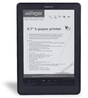 energenie epp2 ereader epaper printer