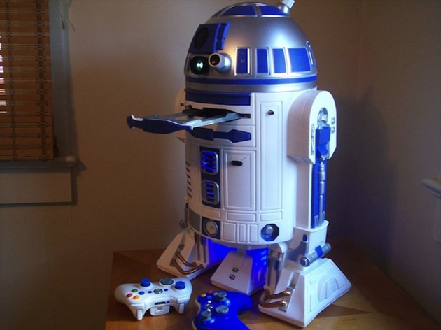 r2-d2 game console multi system PS3 XBOX360