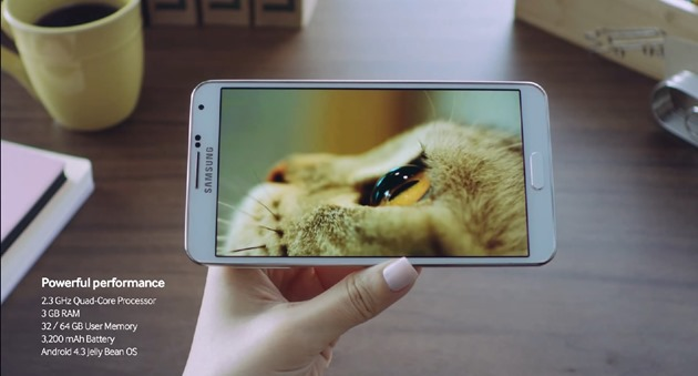 samsung Galaxy Note 3 Hands-on oficial