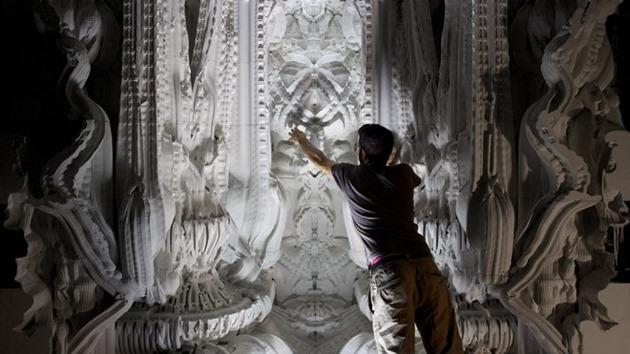 Castel de nisip constructie imprimanta 3d imprimat 3d