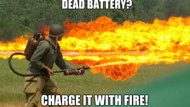FlameStower baterie upgrade update
