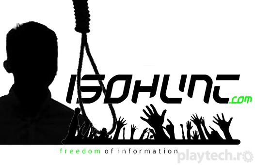 Un nou site de torrent, IsoHunt, condamnat la moarte