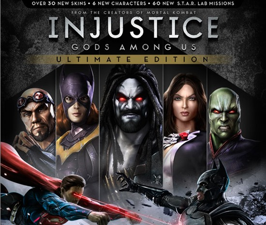 Injustice Gods Among Us Ultimate Edition ps3 ps4 xbox pc