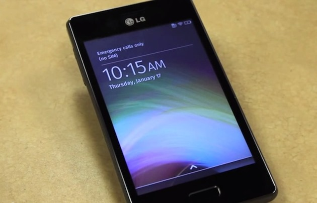 LG-Fireweb firefox os smartphone low end