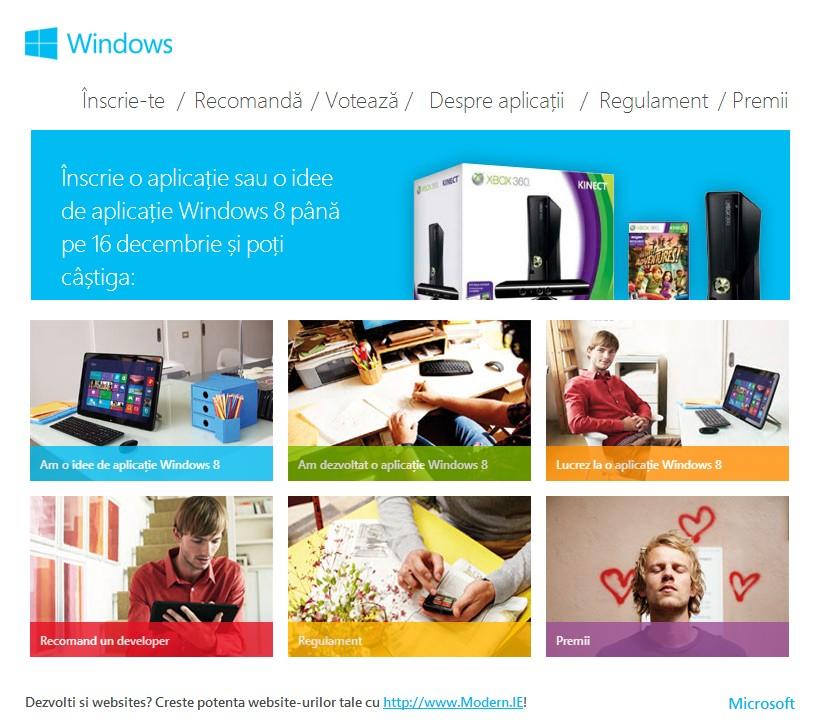 Windows AppCreator Challenge – Microsoft are nevoie de programatori