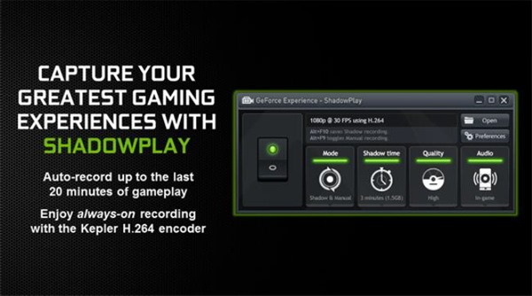 GeForce ShadowPlay iti captureaza aventurile de gamer pe PC [VIDEO]