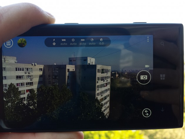 Nokia Lumia 1020 Interfata