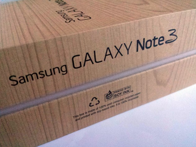 Samsung Galaxy Note 3 Unboxing