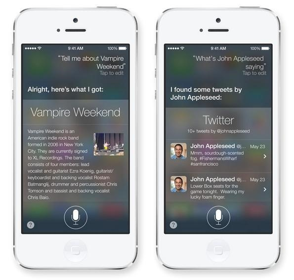 Studiu: Siri face Apple de rusine in iOS 7