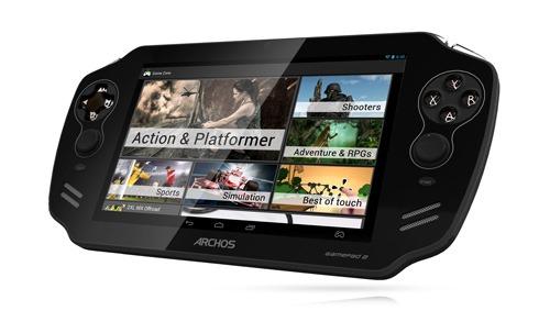 Archos lanseaza consola GamePad 2 cu jocuri gratuite Gameloft [VIDEO]