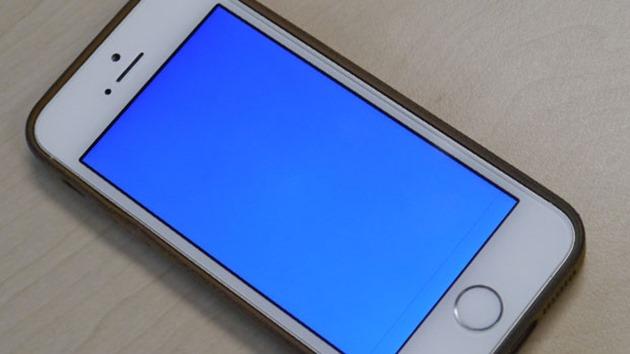 iPhone 5S BSOD blue screen