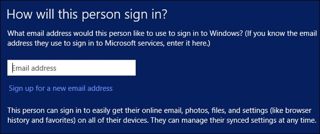 microsoft windows-8.1-sign in with microsoft account