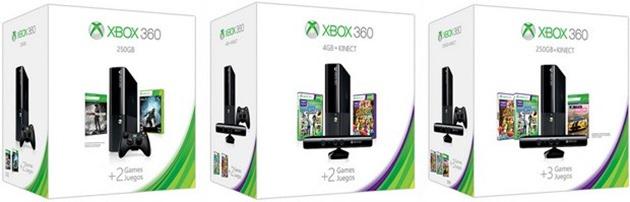 microsoft xbox 360 holiday bundles 2013