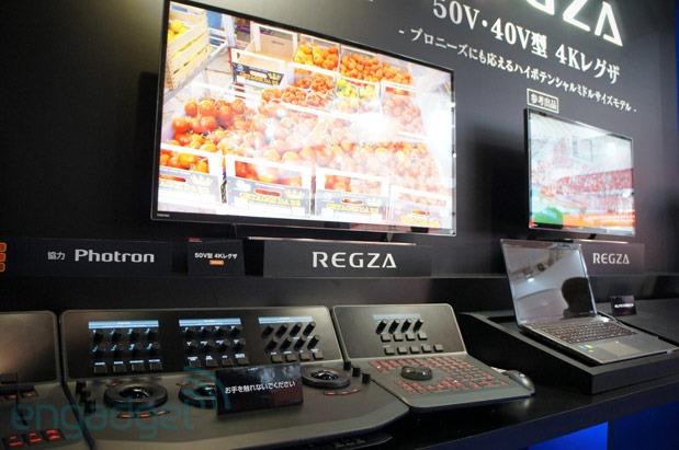 Toshiba anunta monitoare 4K profesionale: REGZA 40V si 50V