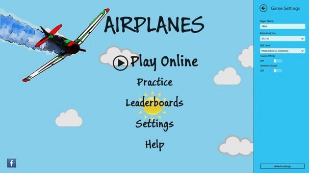 Aplicatia Airplanes