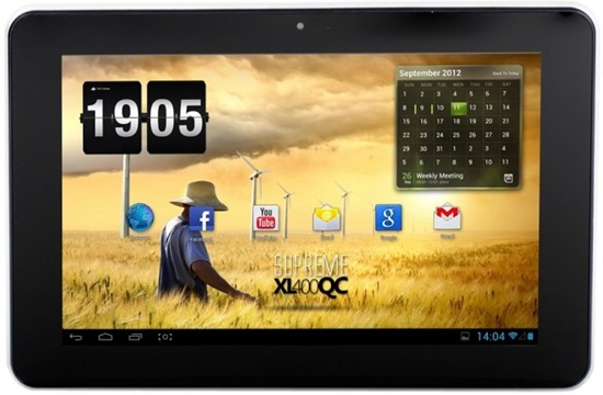 E-Boda Supreme XL 400 QC, 10.1 inch MultiTouch IPS