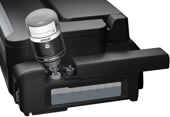 Epson M200 WorkForce multifunctional alb-negru 4