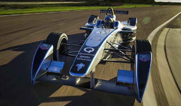 Formula 1 Electric Car
