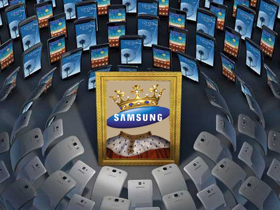 Samsung conduce piaţa terminalelor cu Android