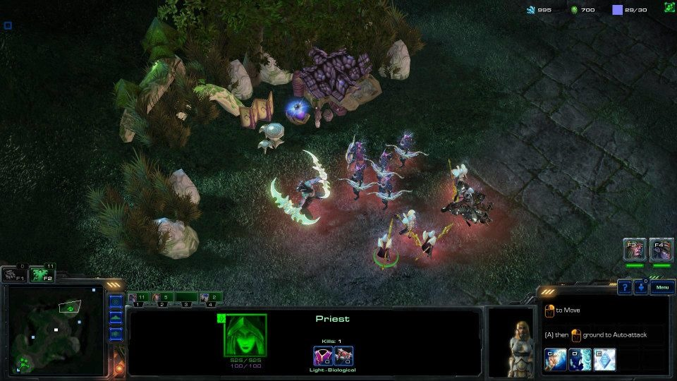 Warcraft RTS: Alliance and Horde – un joc de strategie creat exclusiv de fani