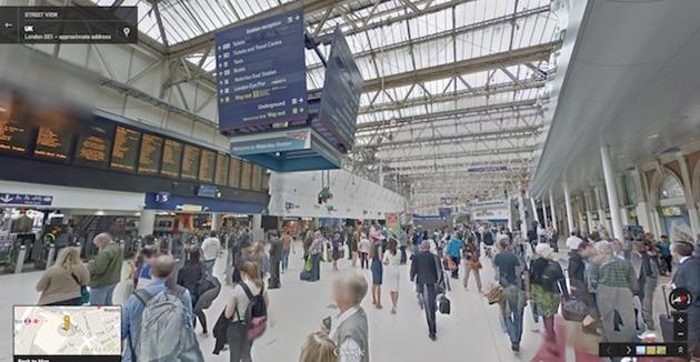 google-street-view-transit-hubs aeroport gara