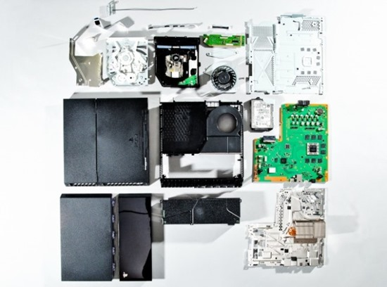 ps4-dismantle-teardown oficial dezmembrare