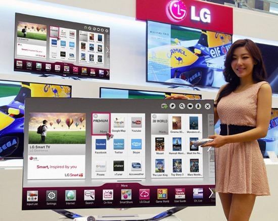 securitate LG Cinema 3D Smart TV-2013