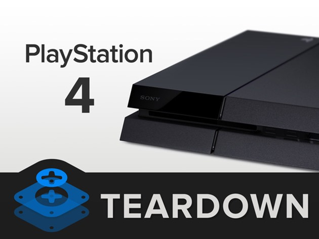 sony playstation 4 teardown demontare