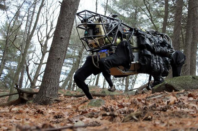 Google achiziționează Boston Dynamics, creatorul lui Big Dog