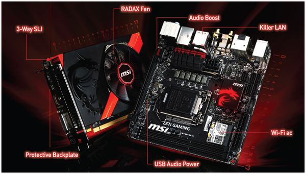 MSI mini ITX Gaming Kit